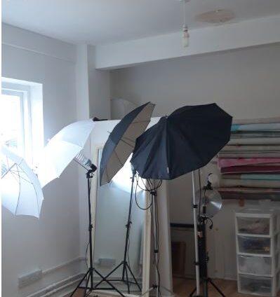 Daylight studio hire