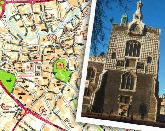 Norwich-mapandplaces