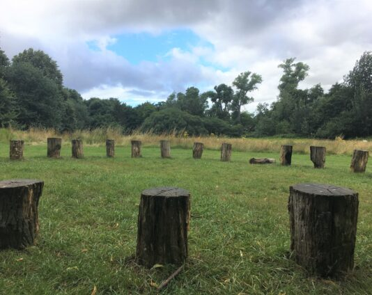 Holywells Log Circle